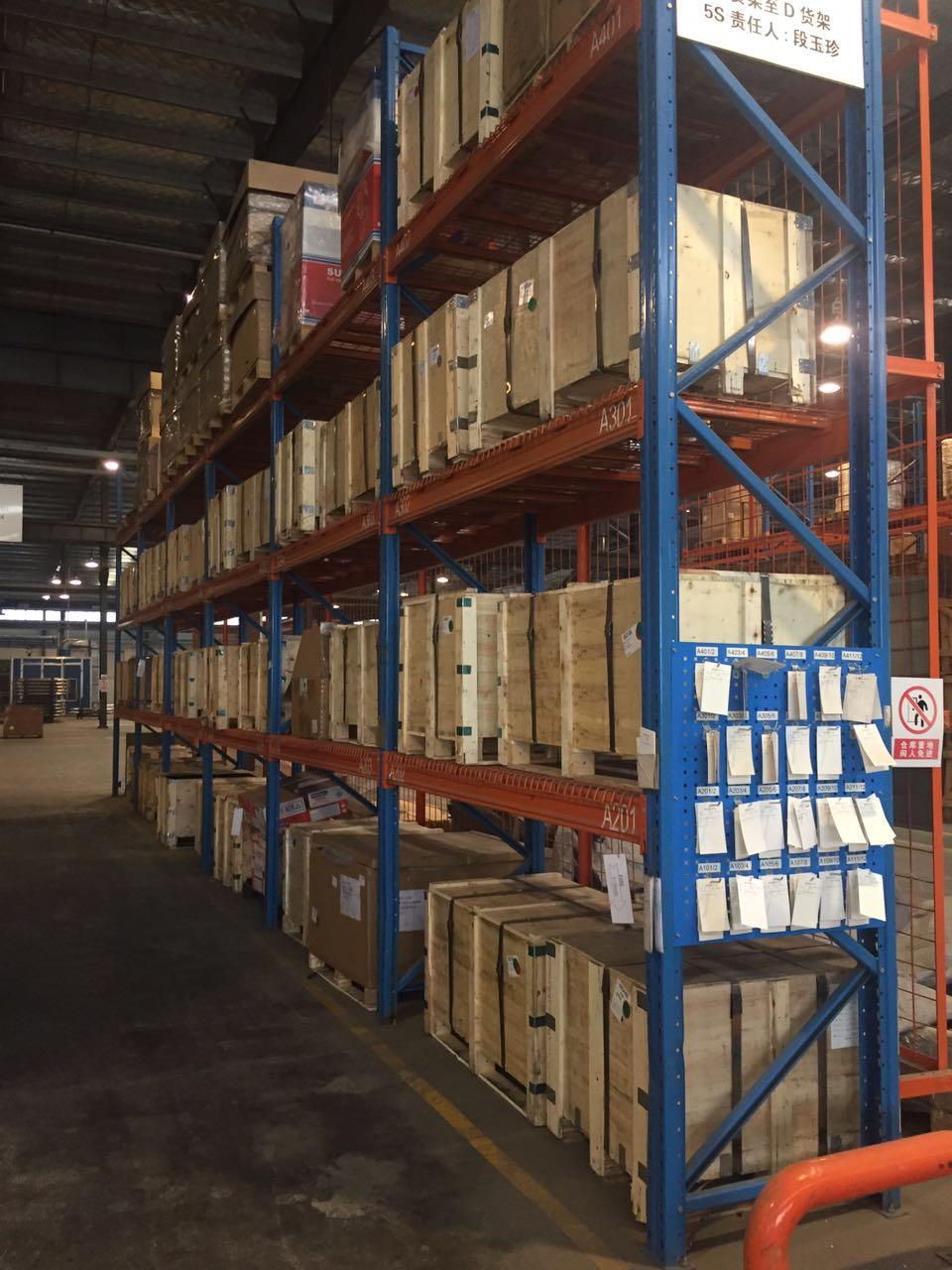 3满足不同重量的货物存储要求托盘货架的托盘承载可定做,每层可承重800-5000kg,可满足不同货物的存储要求。