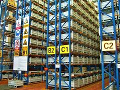 机器人于济南阁楼货架